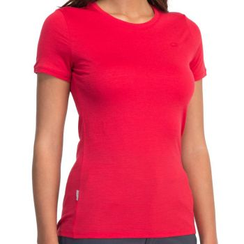 IceBreaker Tech Tee Lite SS red dam