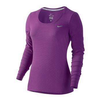 Nike Dri Fit Contour LS tröja dam
