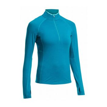 IceBreaker Zone LS Halfzip tröja dam