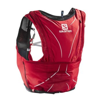 Salomon Advanced Skin 12 Set röd