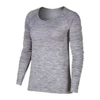 Nike Dri Fit knit top LS dam