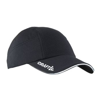 Craft Run cap svart one size