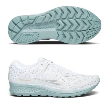 Saucony Ride ISO White Noise herr