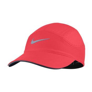 Nike Aerobill Running Cap rosa vit