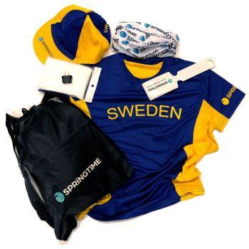 Springtime Travel Sverigekit USA dam