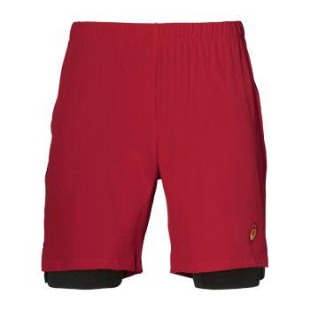 Asics 2 in 1 7 inch shorts herr