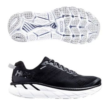 HOKA Clifton 6 wide svart herr