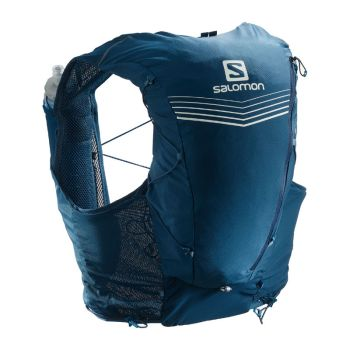 Salomon Adv Skin 12 set blå