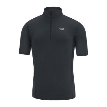 Gore R5 Zip shirt svart herr