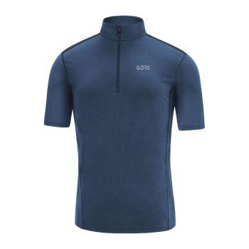 Gore R5 Zip shirt blå herr