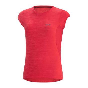 Gore R3 shirt röd dam