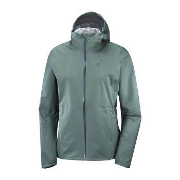 Salomon Lightning WP Jacket grön dam