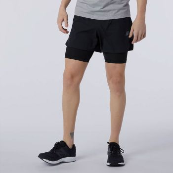 New Balance Q Speed Fuel 2-in-1 Shorts her