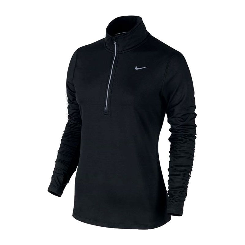 Nike Element half zip svart dam