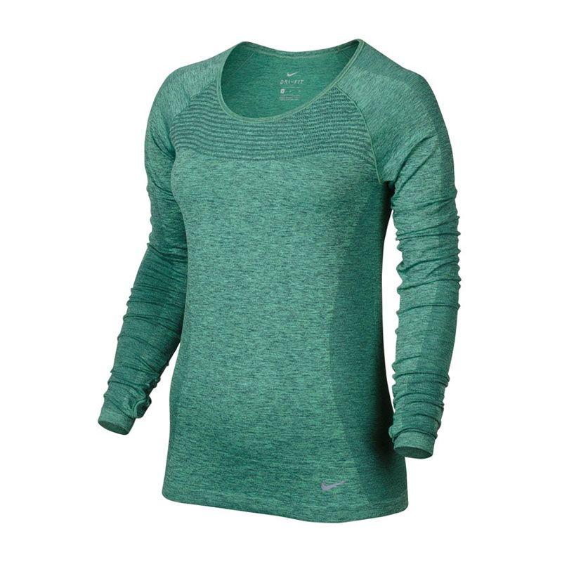 Nike Dri Fit knit long sleeve dam