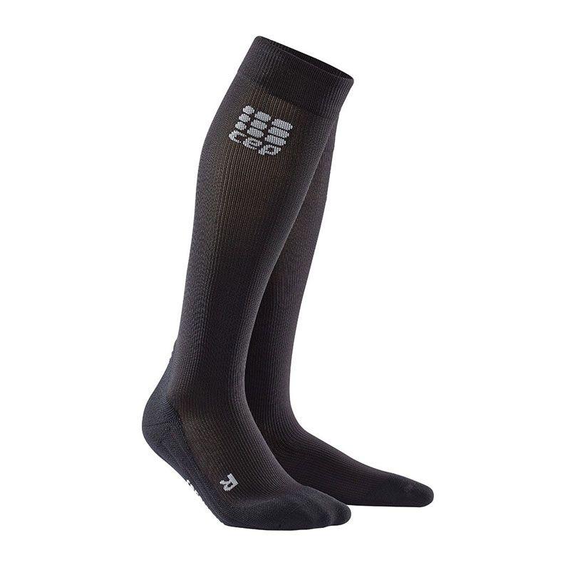 Cep Socks For Recovery Svart Dam