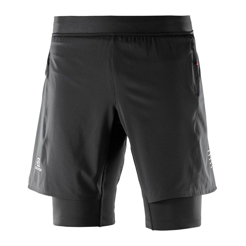Salomon Fast Wing Twinskin Short herr