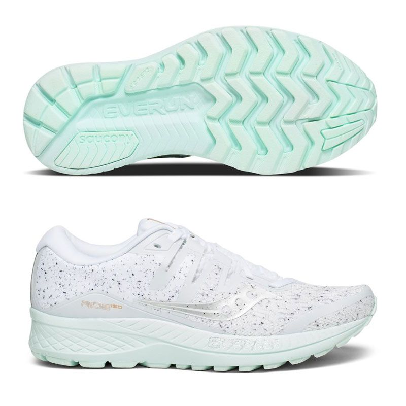 Saucony Ride ISO White Noise dam