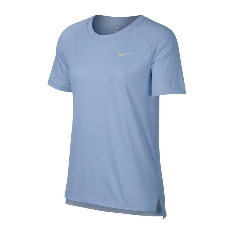Nike TailwindShort-Sleeve blå dam