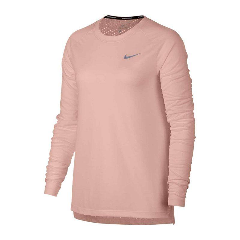 Nike Tailwind Long-Sleeve rosa dam