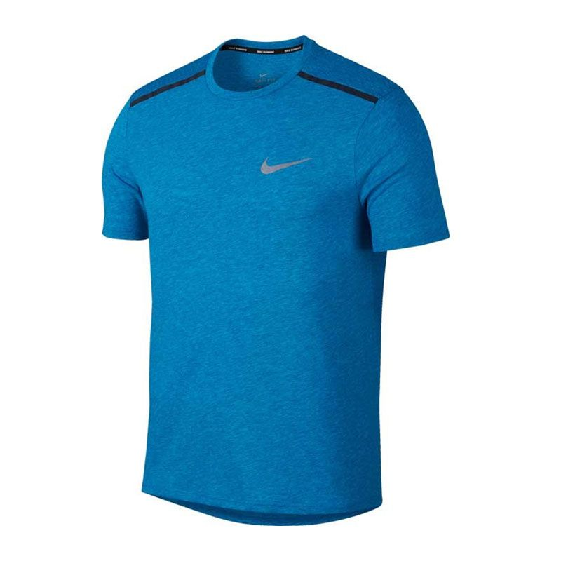 Nike Breathe Rise 365 top blå herr