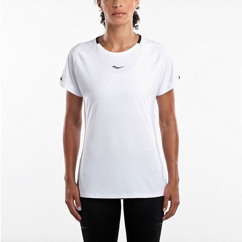 Saucony UV Lite short sleeve dam