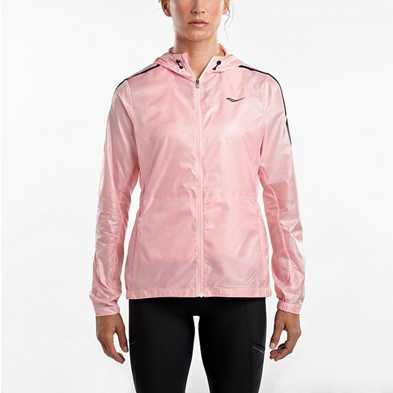 Saucony Pack it Run jacket dam