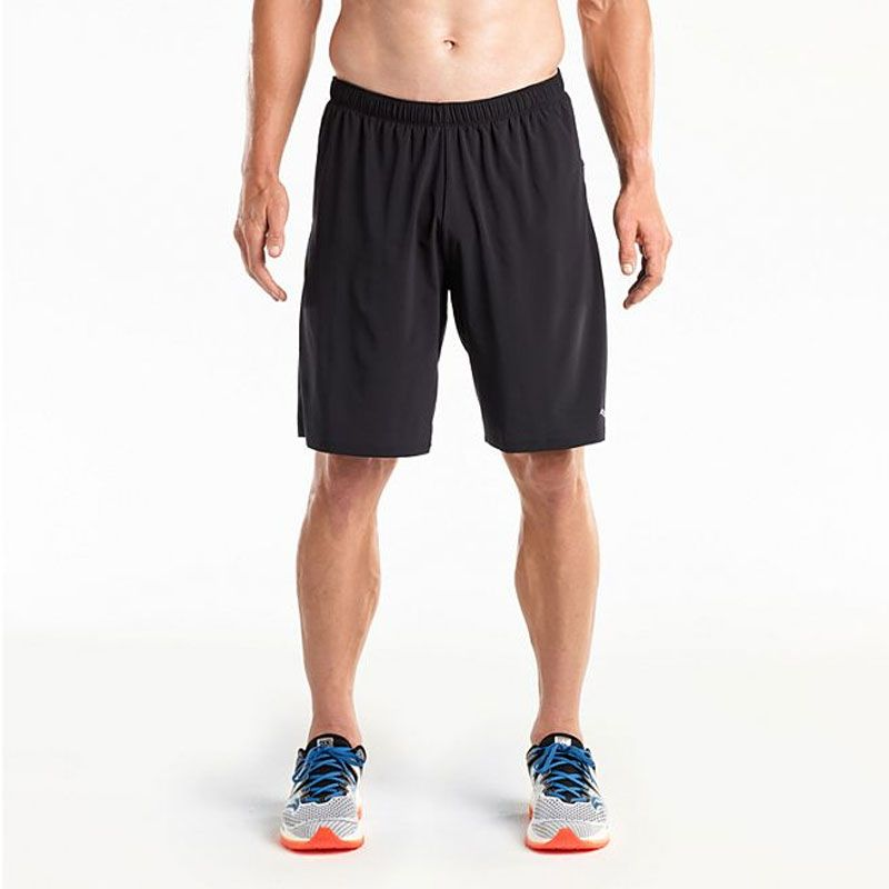 Saucony Interval 9'' 2in1 shorts herr