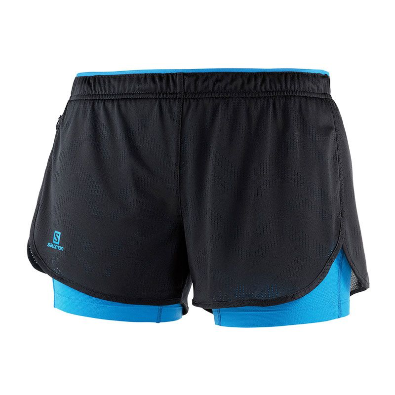 Salomon Agile  2 in 1 shorts dam