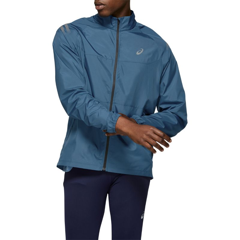 Asics ICON JACKET blå herr