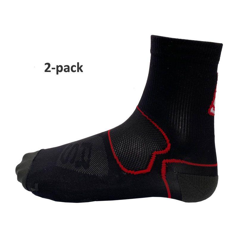 Runners' Store Technical sock svart 2-pack