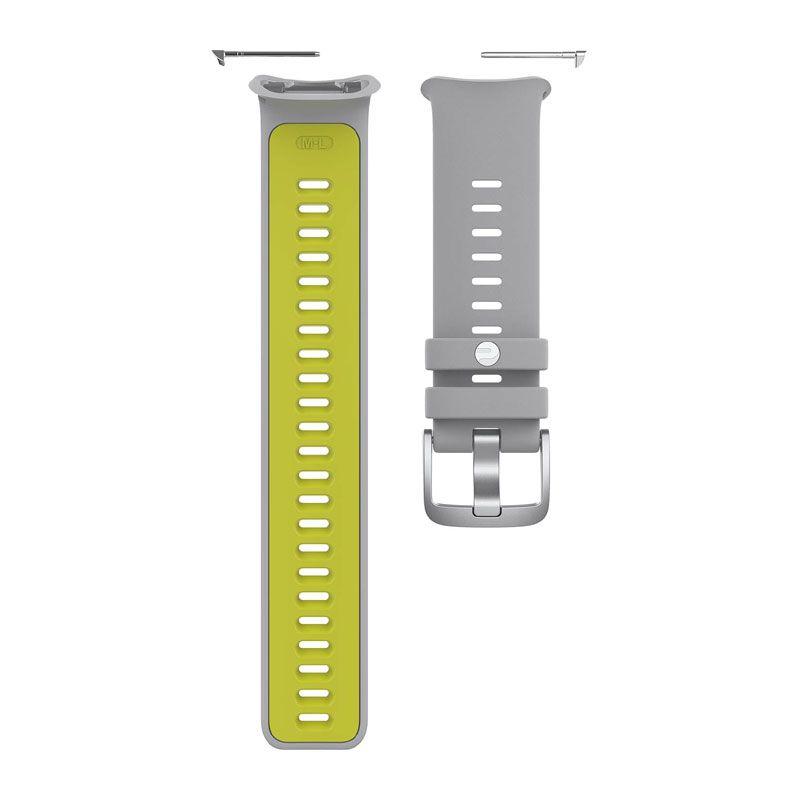 Polar Armband Vantage 2  silver/lime