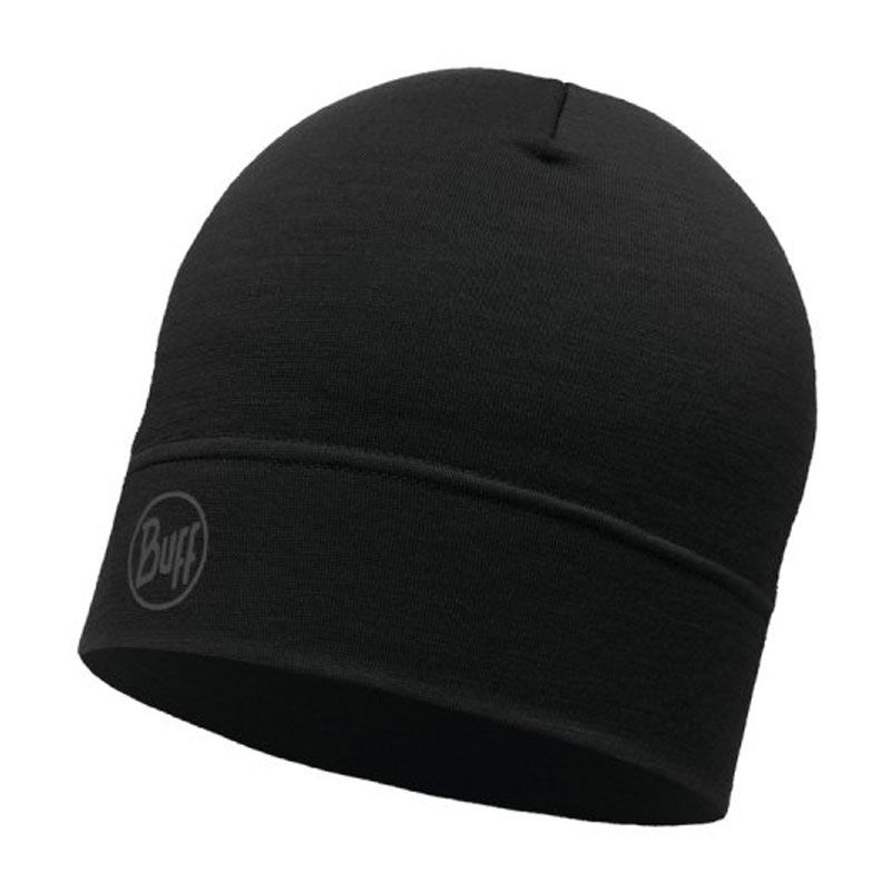 Buff Lightweight Merino Hat svart