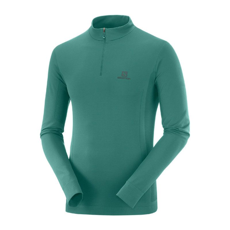 Salomon Explore Seamless Half Zip herr