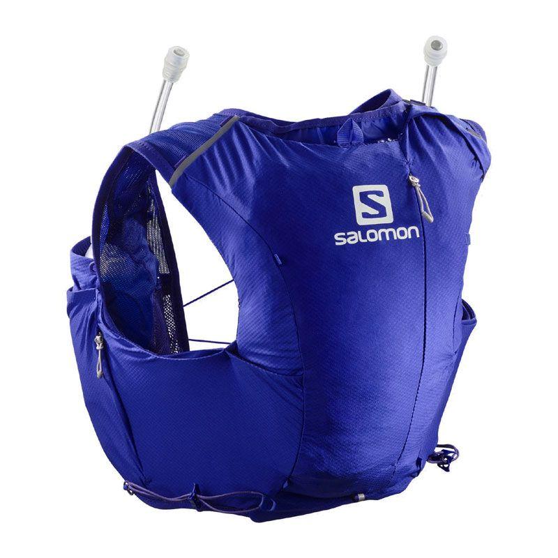 Salomon Adv Skin 8 set blå dam