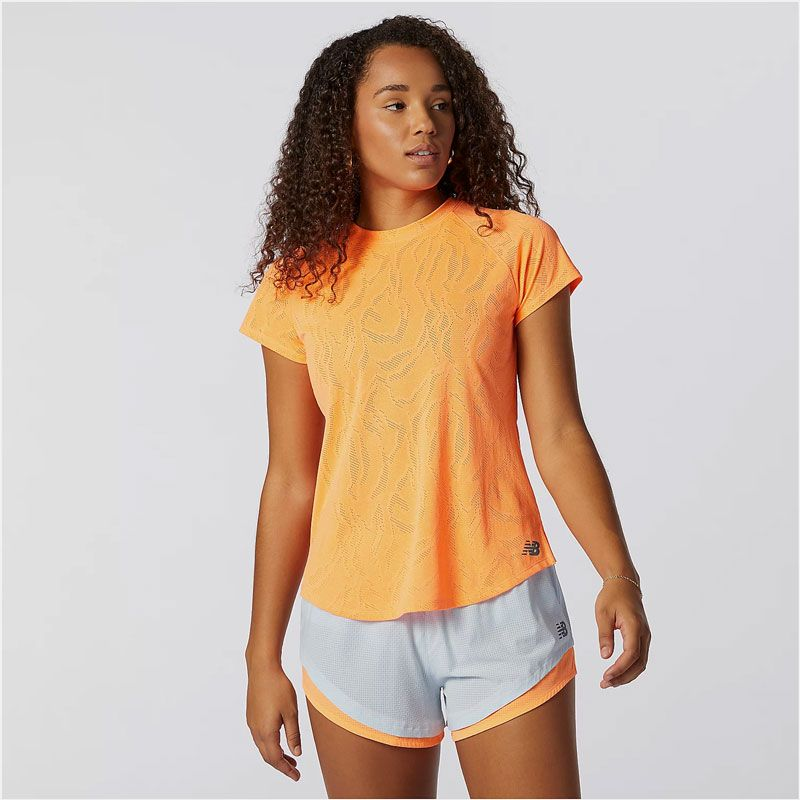 New Balance Q Speed Fuel Jacquard Tee dam